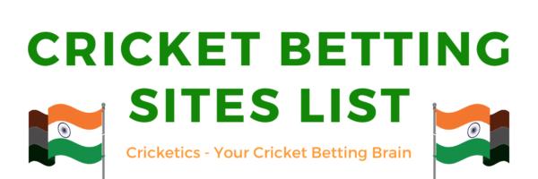 Cricket sites list