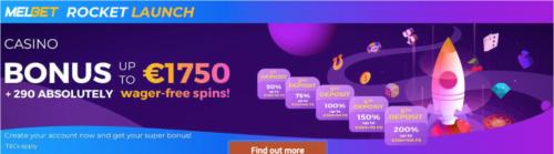 Melbet Casino promotion