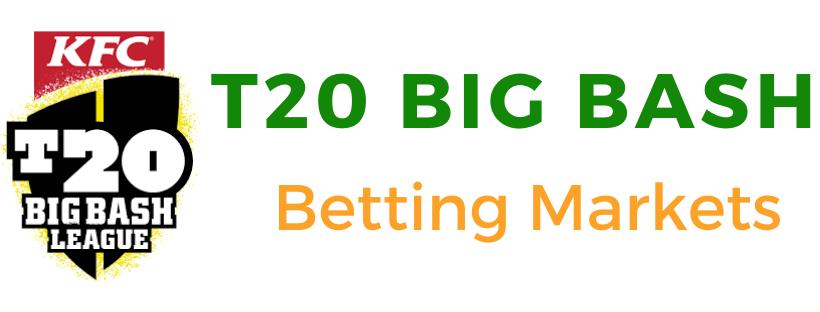 Big bash betting markets
