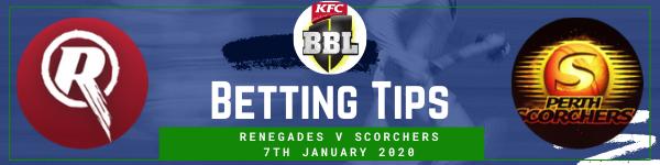 Betting predictions for Melbourne Renegades v Perth Scorchers
