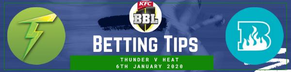 Betting predictions for Sydney Thunder v Brisbane Heat