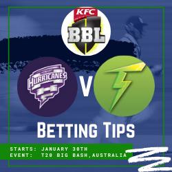 Melbourne Stars v Sydney Thunder Knock Out Betting Tips & odds