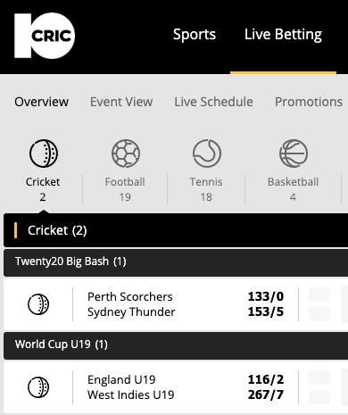 360 cricket betting site sportpesa betting terms su