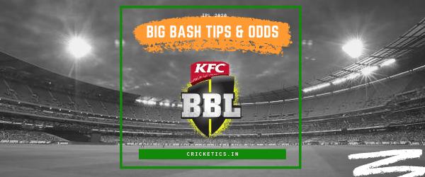 Betting tips cricket big bash bitcoins value 2021